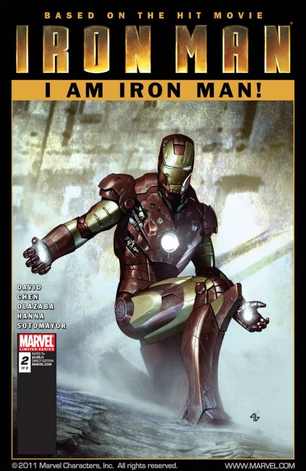Iron Man: I Am Iron Man! #2 (of 2)