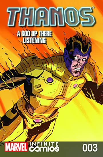 Thanos: A God Up There Listening - Infinite Comic #3