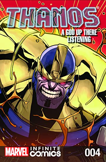 Thanos: A God Up There Listening - Infinite Comic #4