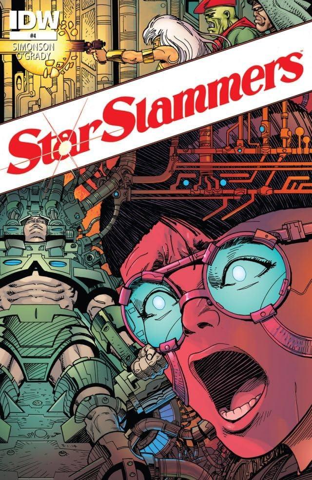 Star Slammers: Re-mastered! #4