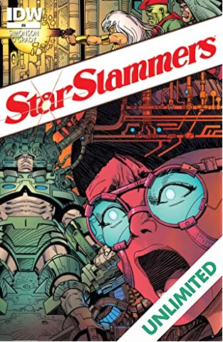 Star Slammers: Re-mastered! #4