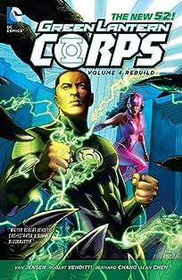 Green Lantern Corps (2011-2015) Vol. 4: Rebuild
