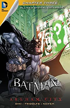 Batman: Arkham City Exclusive Digital Chapter No.3