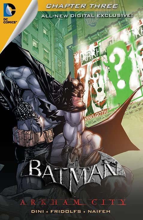 Batman: Arkham City Exclusive Digital Chapter #3