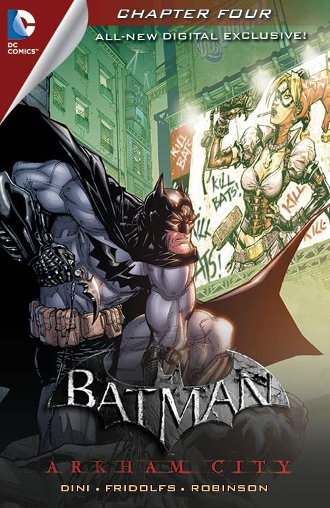 Batman: Arkham City Exclusive Digital Chapter #4