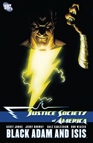 Justice Society of America (2007-2011): Black Adam and Isis