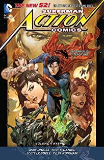Superman - Action Comics (2011-2016) Vol. 4: Hybrid