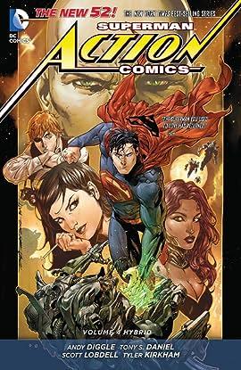 Superman - Action Comics (2011-2016) Vol. 4: Hybrid