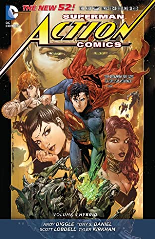 Superman - Action Comics (2011-) Vol. 4: Hybrid