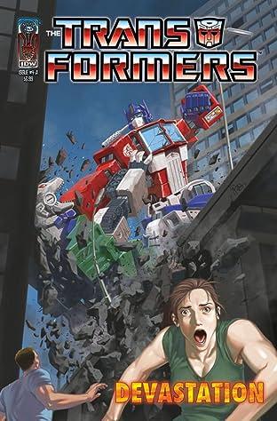 Transformers: Devastation #4
