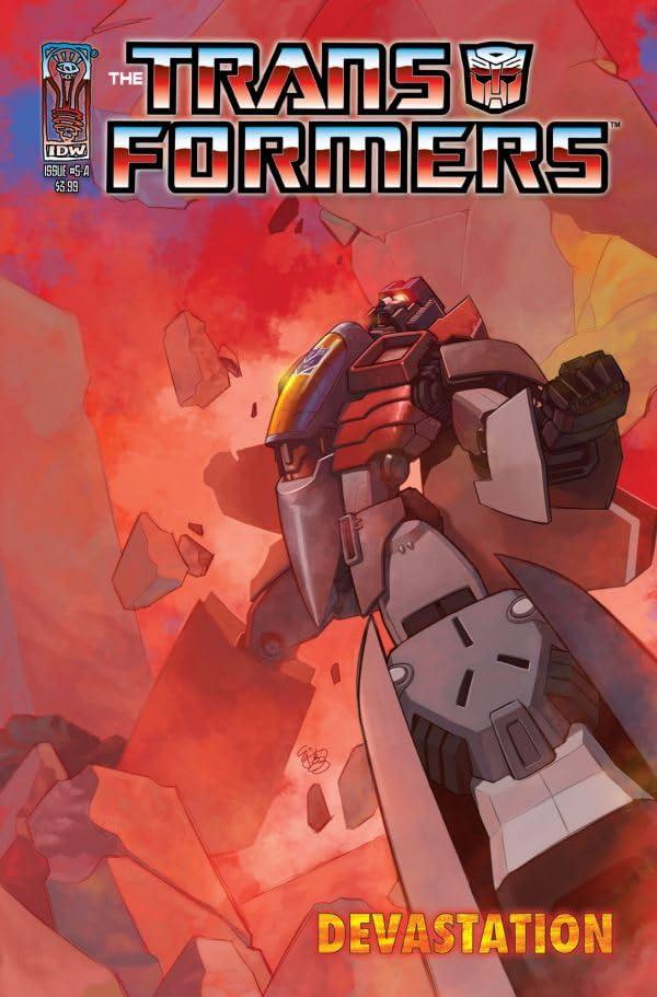 Transformers: Devastation #5