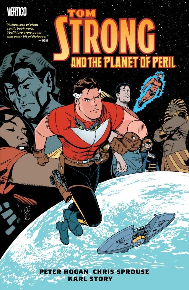 Tom Strong And The Planet Of Peril Eu Comics By Comixology