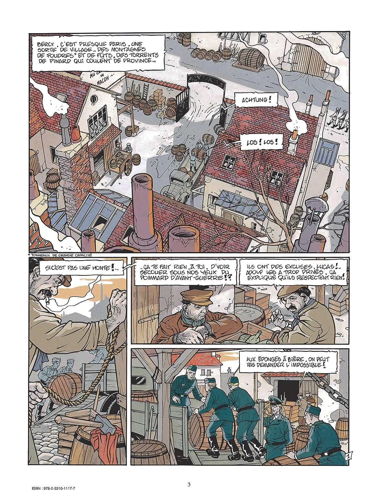 Le Boche Vol. 4: Le cheval bleu