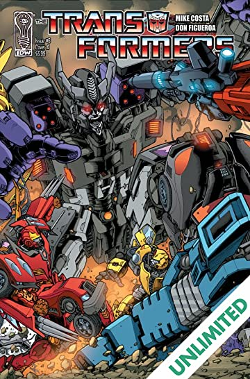 Transformers (2010-2011) #6