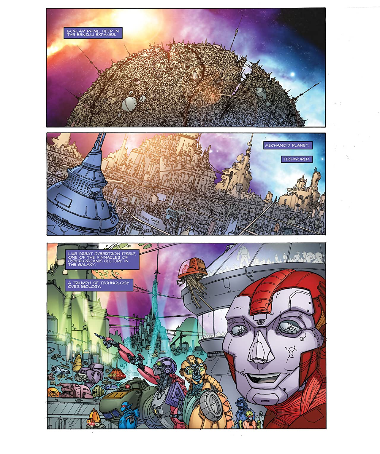 Transformers: Heart of Darkness #1
