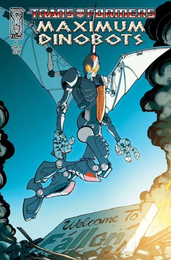 Transformers: Maximum Dinobots #3