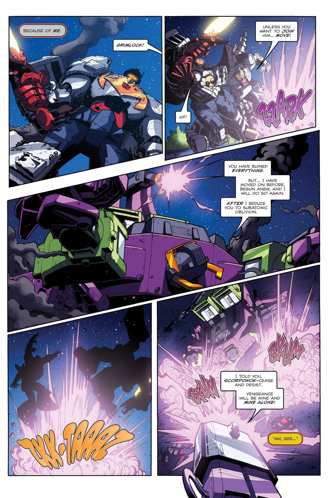 Transformers: Maximum Dinobots #5