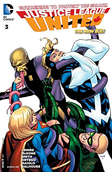 Justice League United (2014-) #3