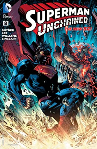 Superman Unchained (2013-2014) No.8