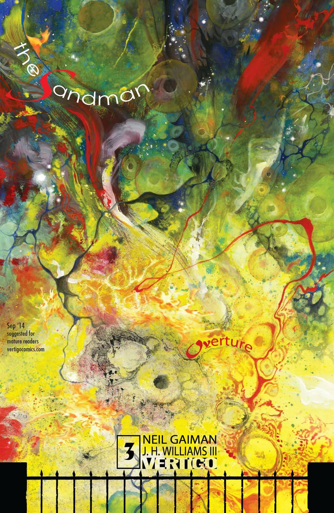 The Sandman: Overture (2013-2015) #3 (of 6)