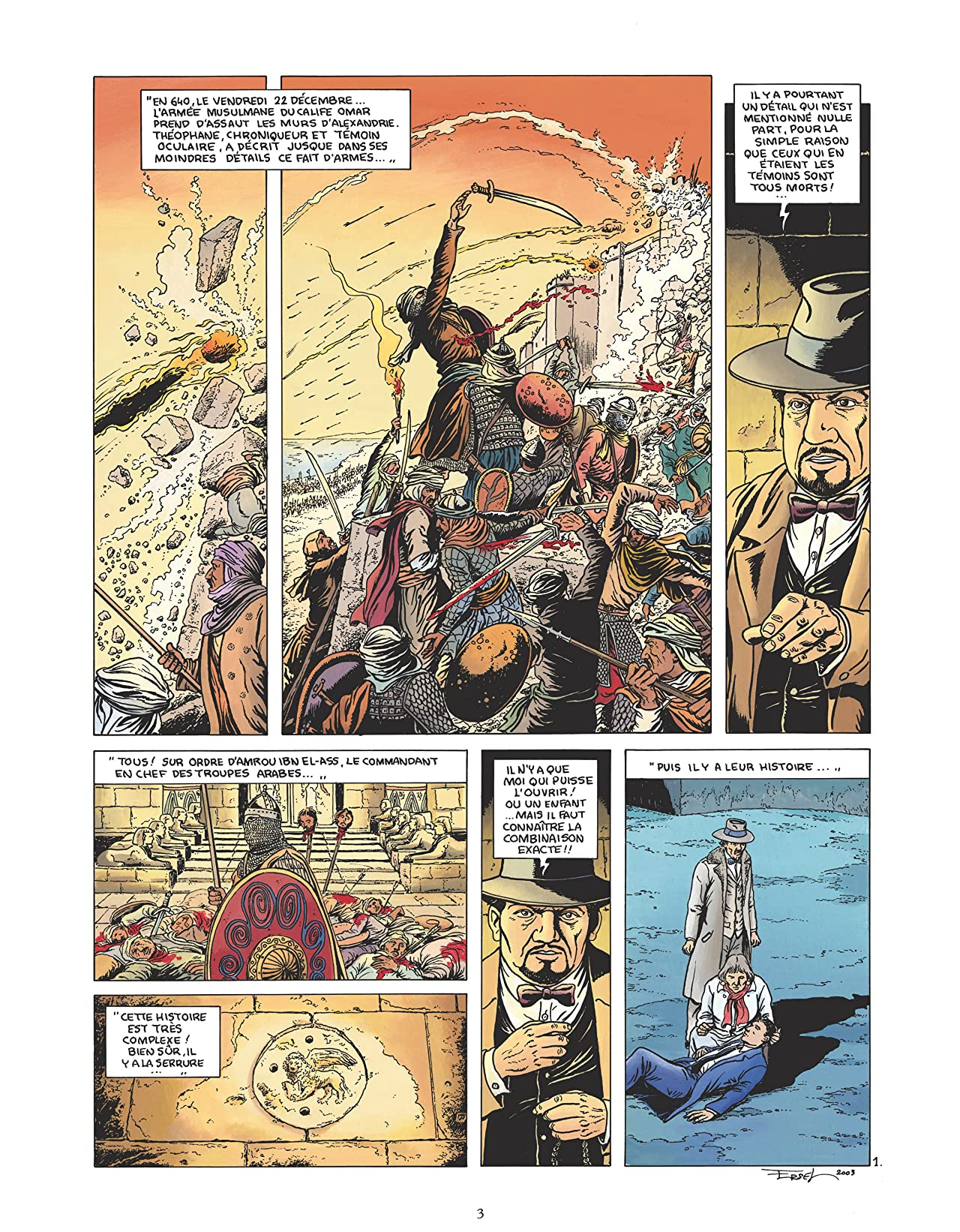 Le Gardien de la Lance Vol. 3: Le don de Salâh al-Dîn
