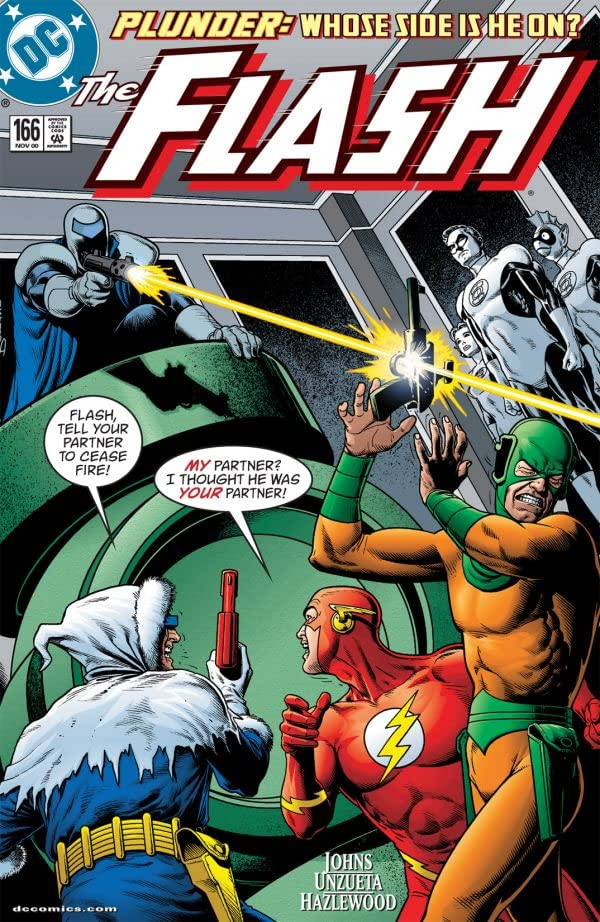 The Flash (1987-2009) #166