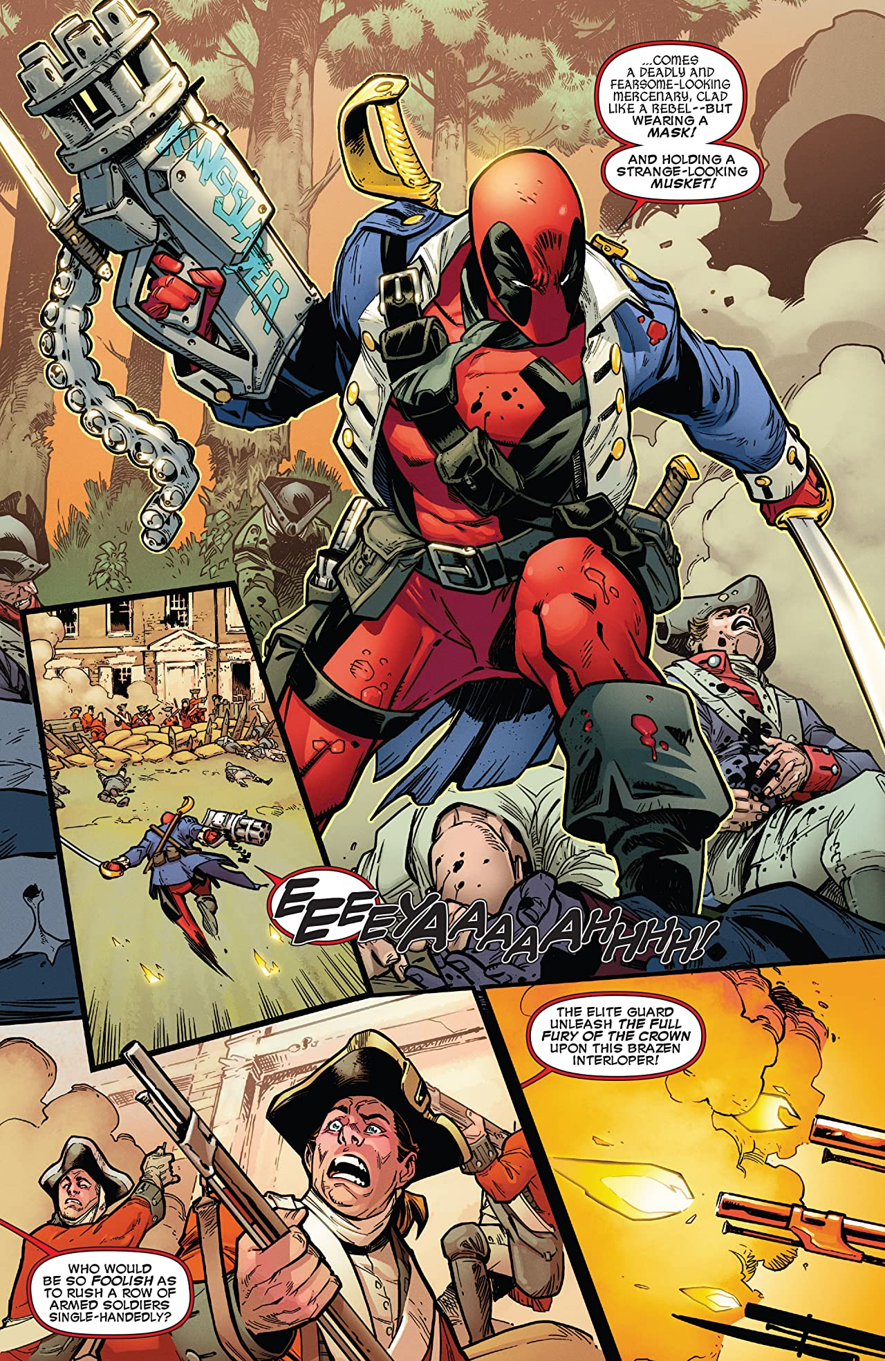 Deadpool vs. X-Force #1 (of 4)