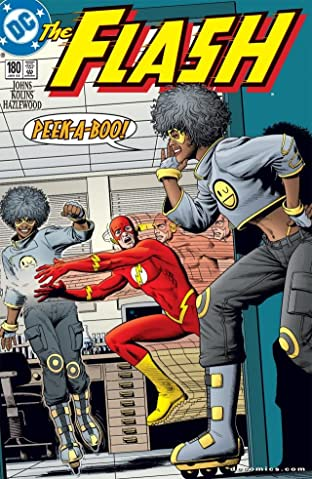 The Flash (1987-2009) #180