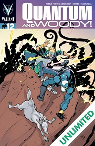 Quantum and Woody (2013- ) #12: Digital Exclusives Edition