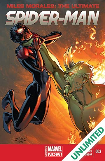 Miles Morales Ultimate Spider Man 2014 2015 3 Comics By