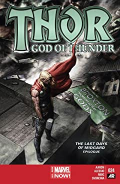 Thor: God of Thunder #24