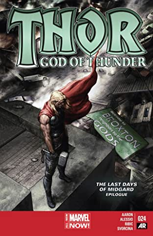 Thor: God of Thunder No.24