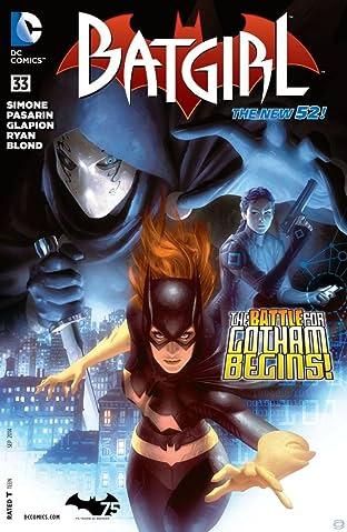 Batgirl (2011-2016) #33