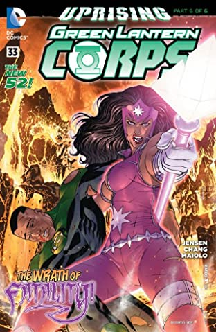 Green Lantern Corps (2011-2015) #33