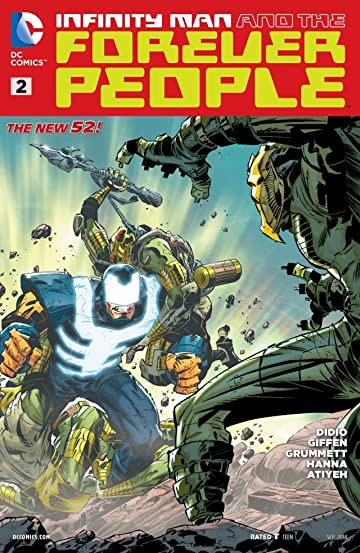 Infinity Man and the Forever People (2014-2015) #2
