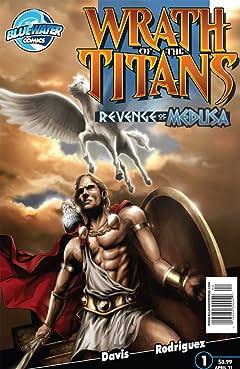 Wrath of the Titans: Revenge of Medusa #1