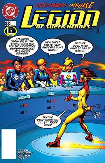 Legion of Super-Heroes (1989-2000) #88