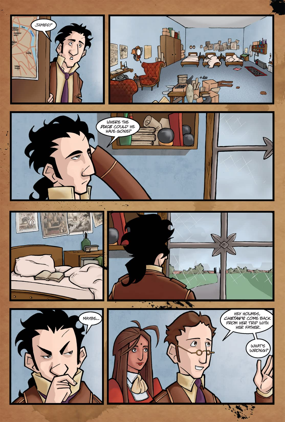 Young Sherlock Holmes Adventures #2