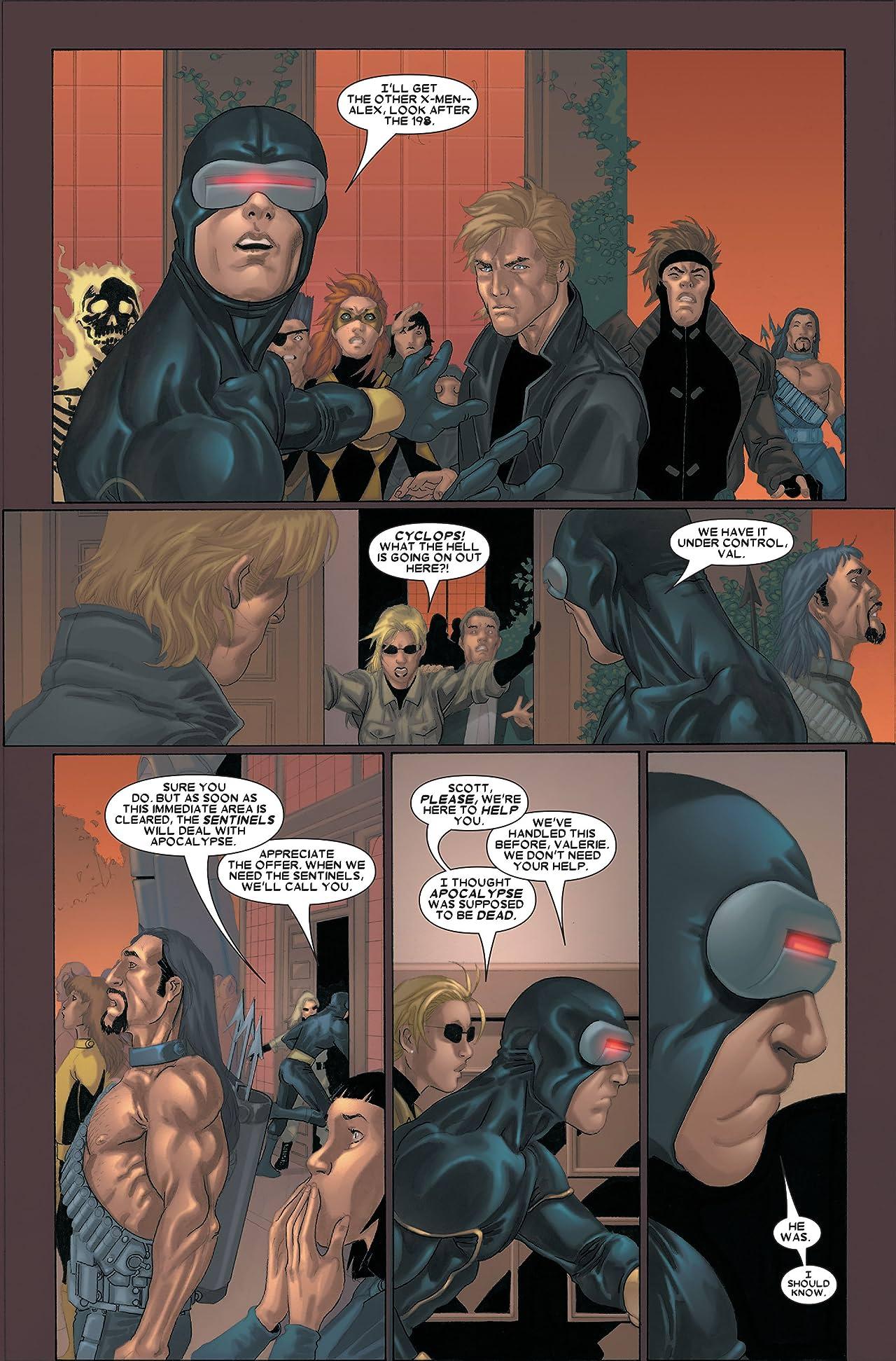 X-Men (2004-2007) #183