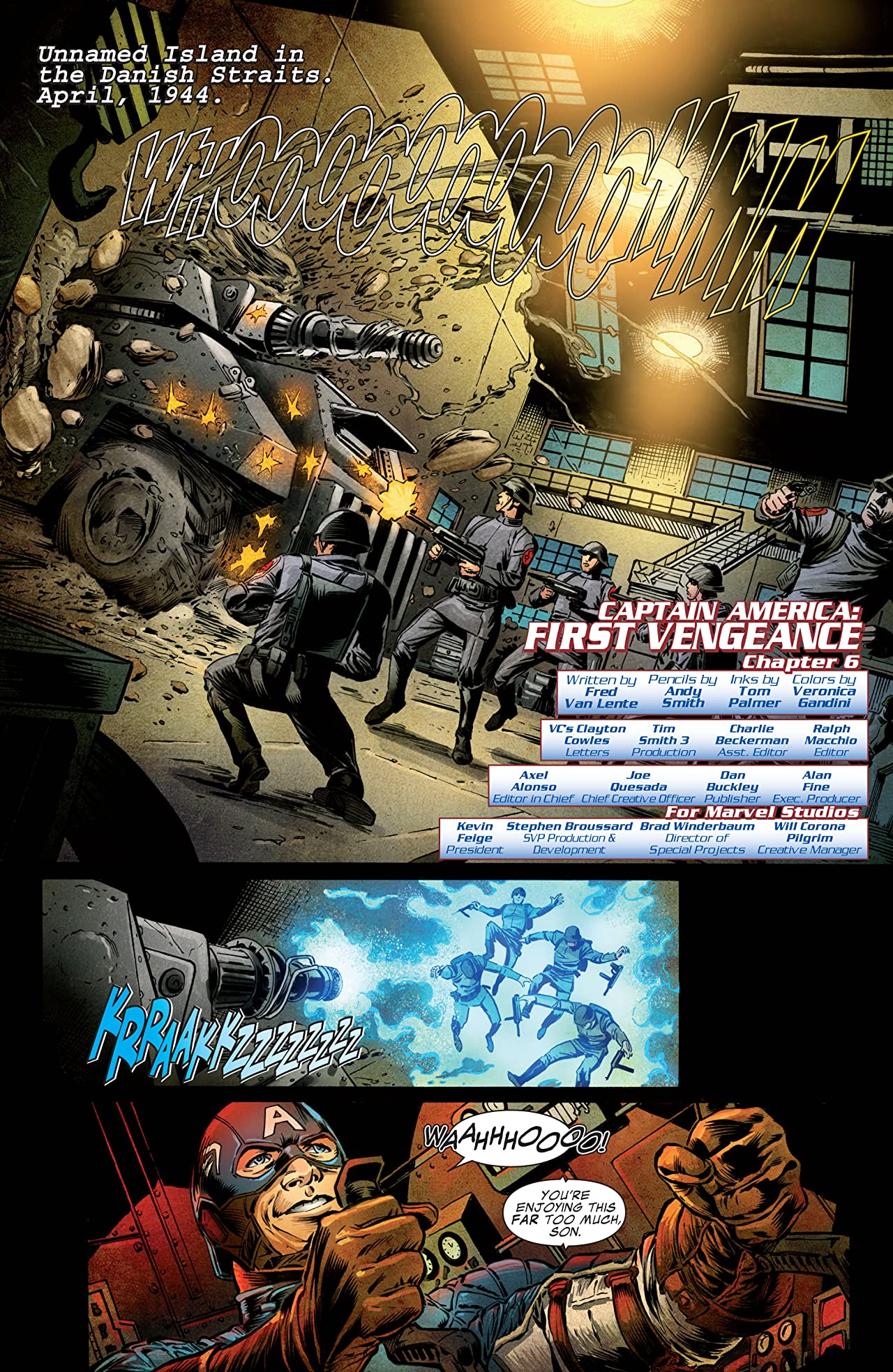 Captain America: The First Avenger #6: First Vengeance