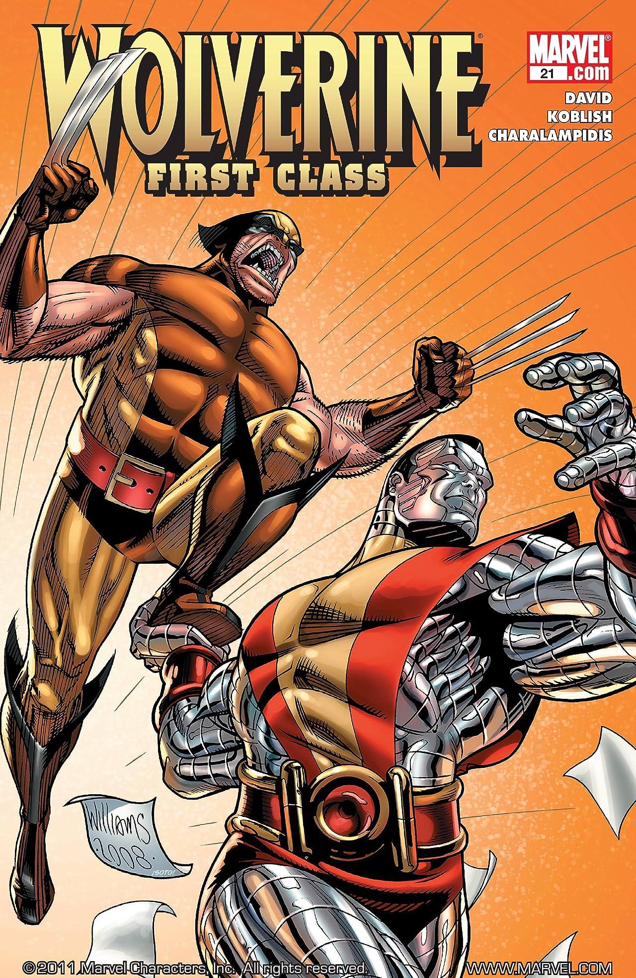 Wolverine: First Class #21