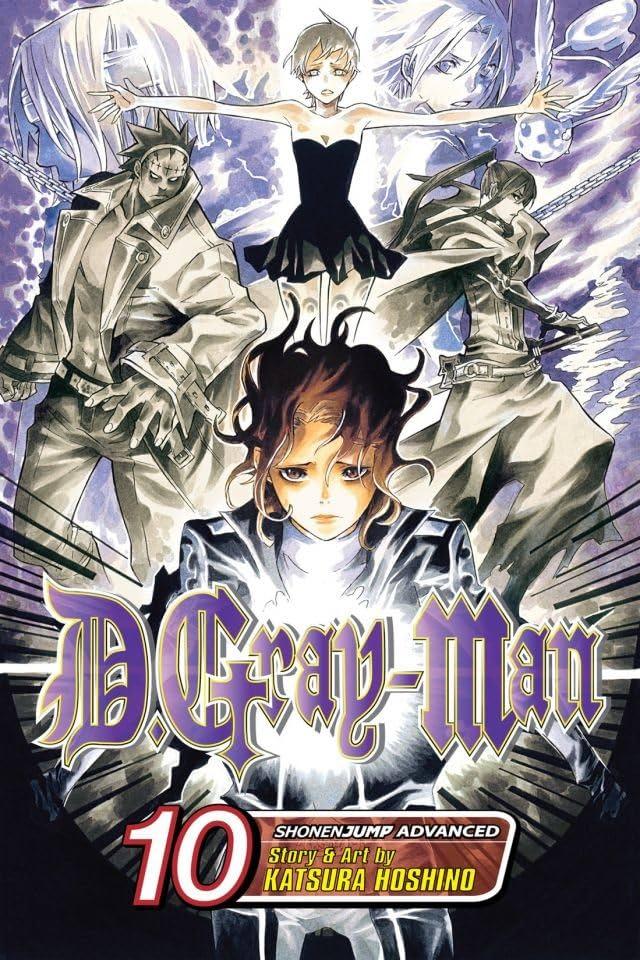 D.Gray-man Vol. 10