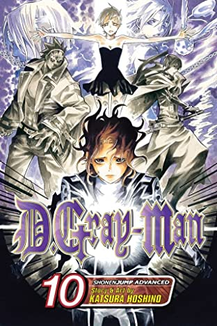 D.Gray-man Vol. 10