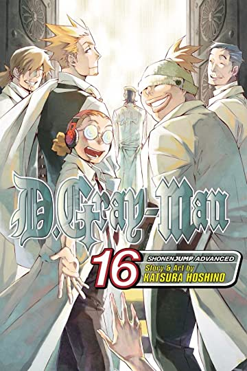 D.Gray-man Vol. 16