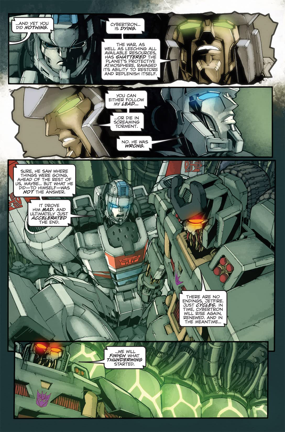 Transformers: Stormbringer #2 (of 4)