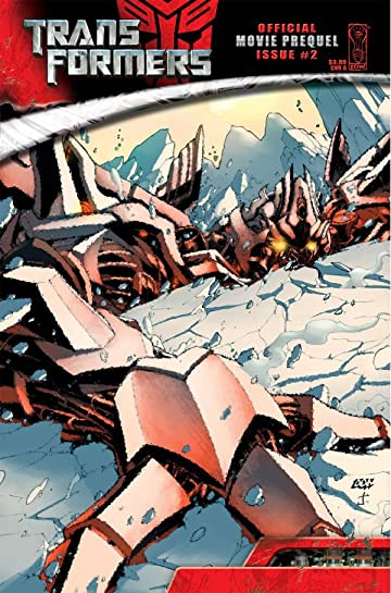 Transformers: The Official Movie Adaptation Prequel #2