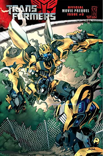 Transformers: The Official Movie Adaptation Prequel #3