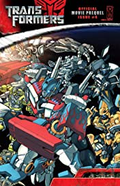 Transformers: The Official Movie Adaptation Prequel #4
