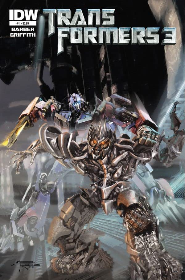 Transformers 3 Movie Prequel - Foundation #1 (of 4)