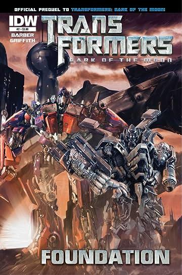 Transformers 3 Movie Prequel - Foundation #2 (of 4)